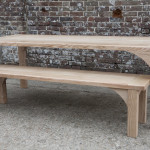 Table and Bench Ash